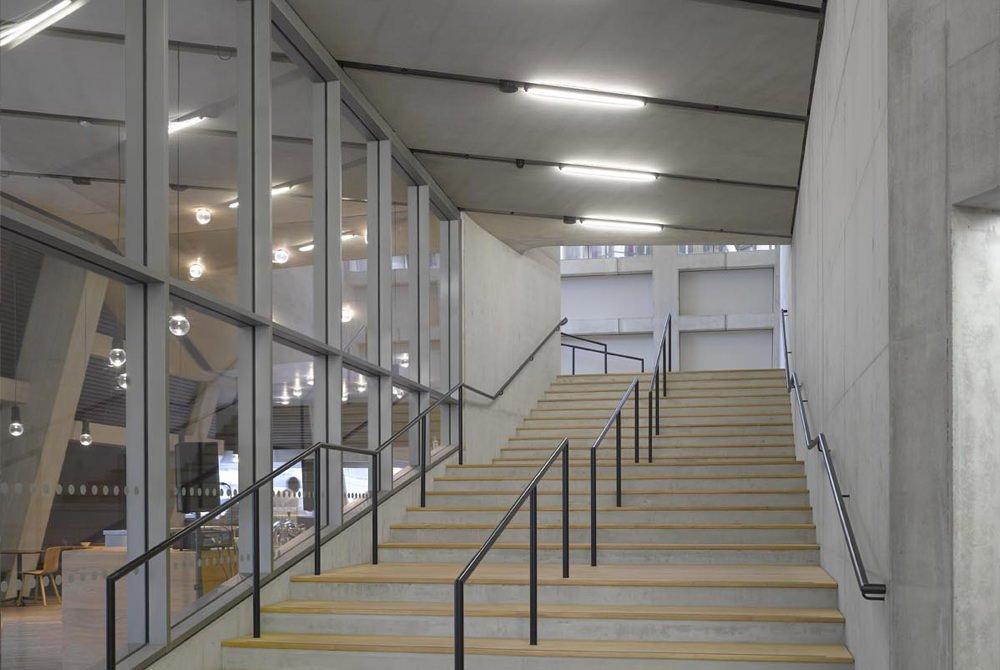 Modern public terrace on Level 11